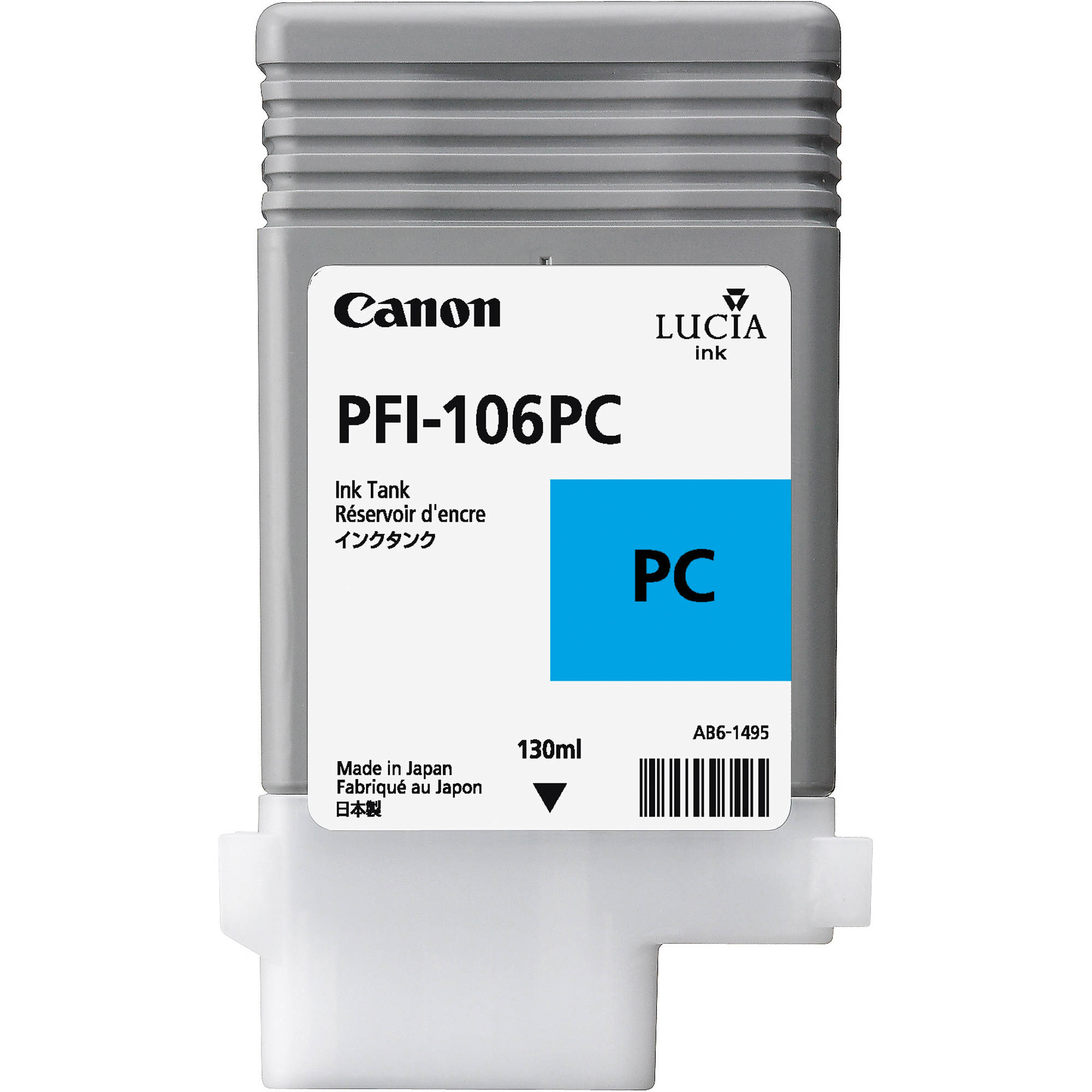 Original Canon PFI-106PC Photo Cyan Ink Cartridge (6625001)