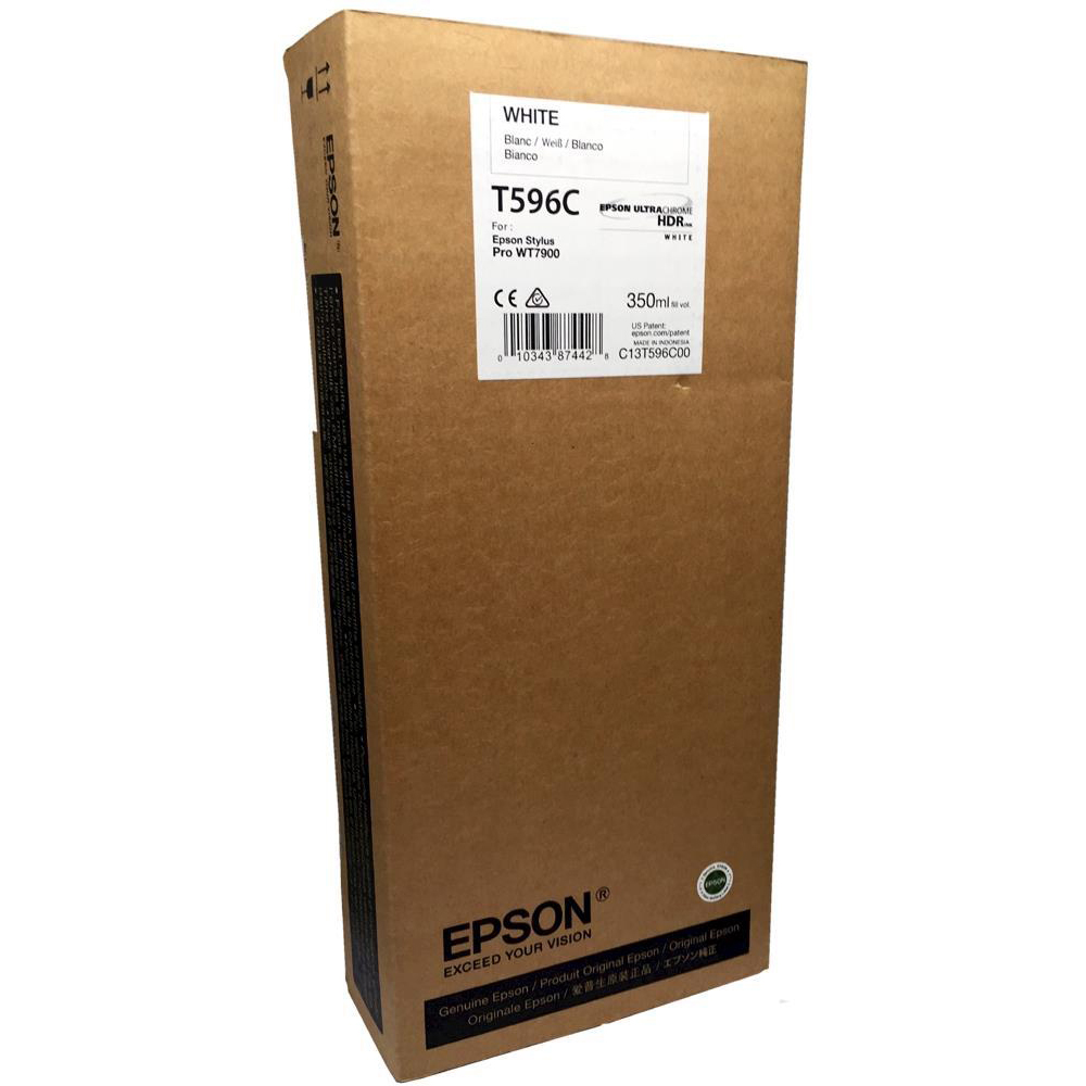 Original Epson T596C White Ink Cartridge (C13T596C00)