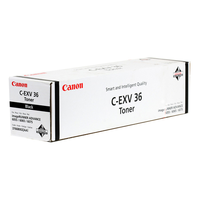 Original Canon C-EXV36 Black Toner Cartridge (3766B002)