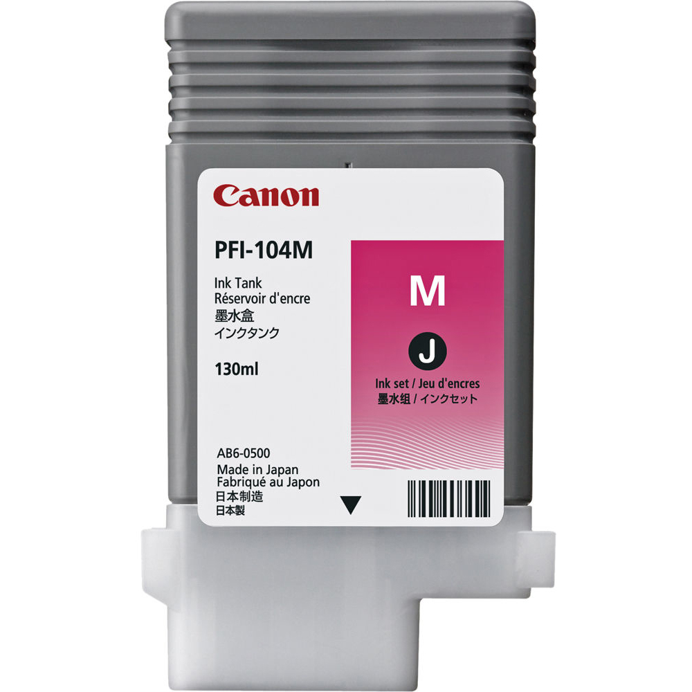 Original Canon PFI-104M Magenta Ink Cartridge (3631B001AA)