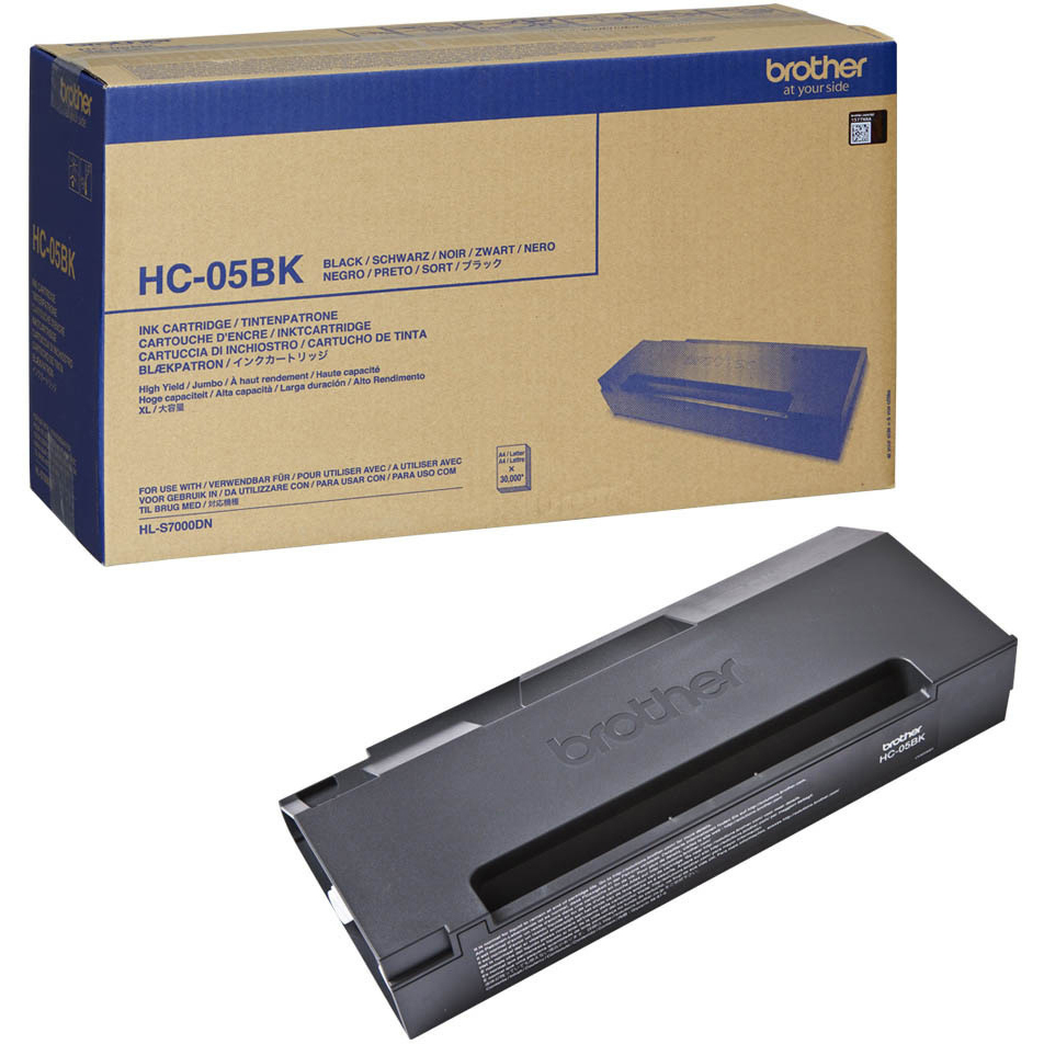 Original Brother HC05BK Black Super High Capacity Ink Cartridge (HC05BK)