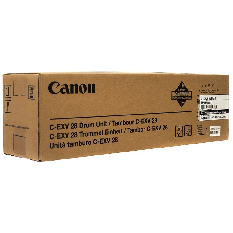 Original Canon C-EXV28 Black Drum Unit (2776B003BA)