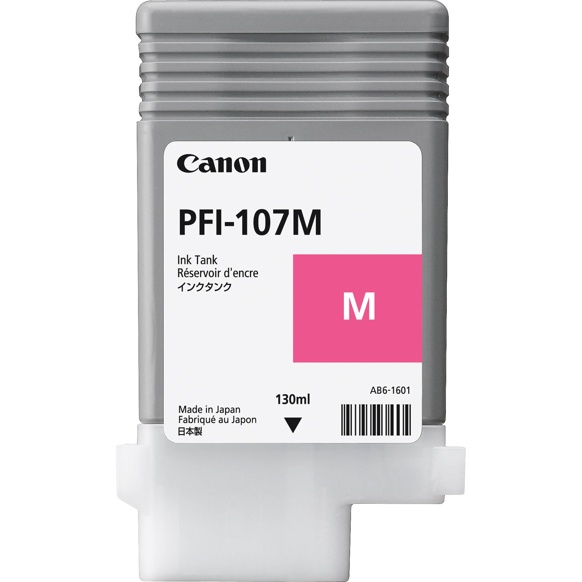 Original Canon PFI-107M Magenta Ink Cartridge (6707B001AA)