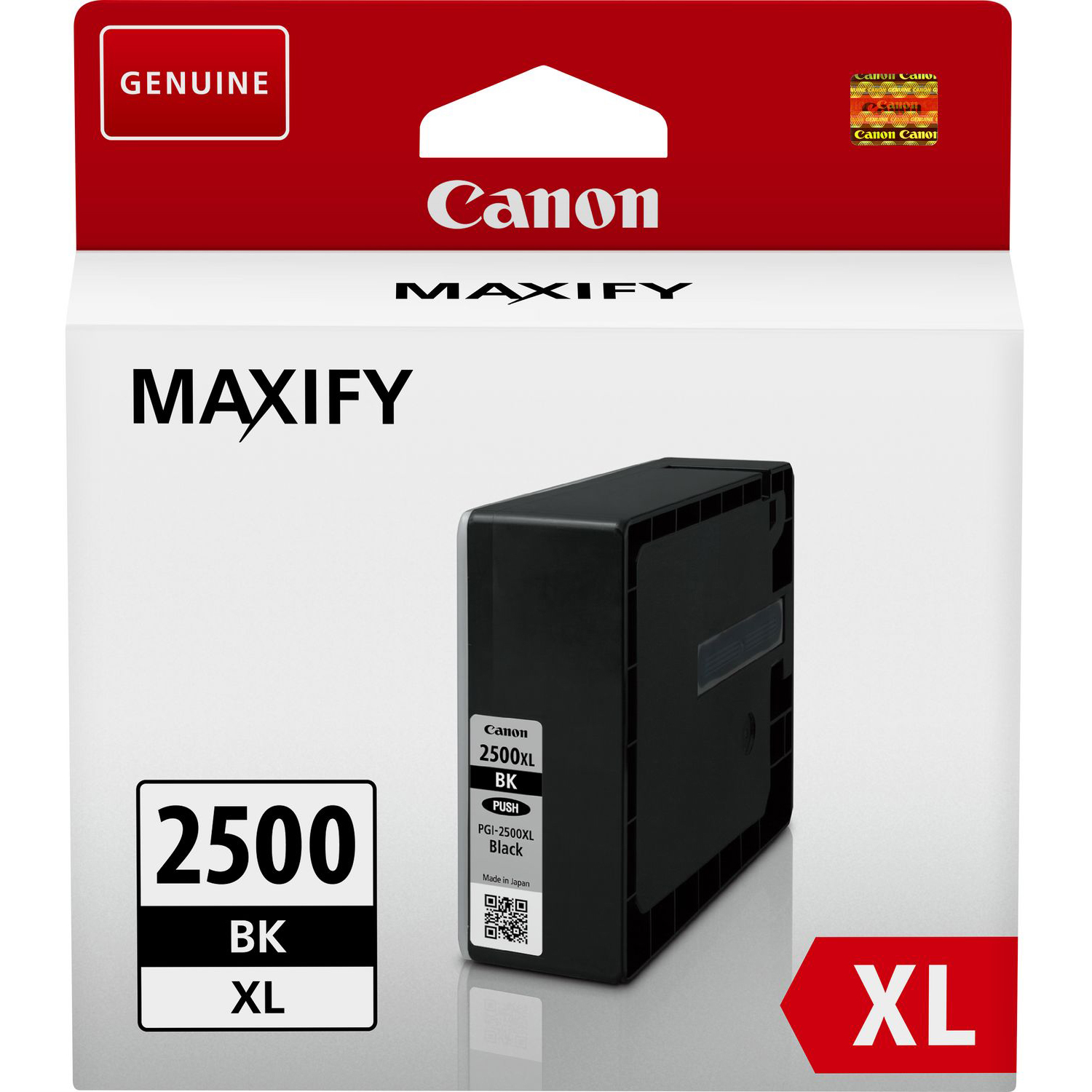 Original Canon PGI-2500BKXL Black High Capacity Ink Cartridge (9254B001)