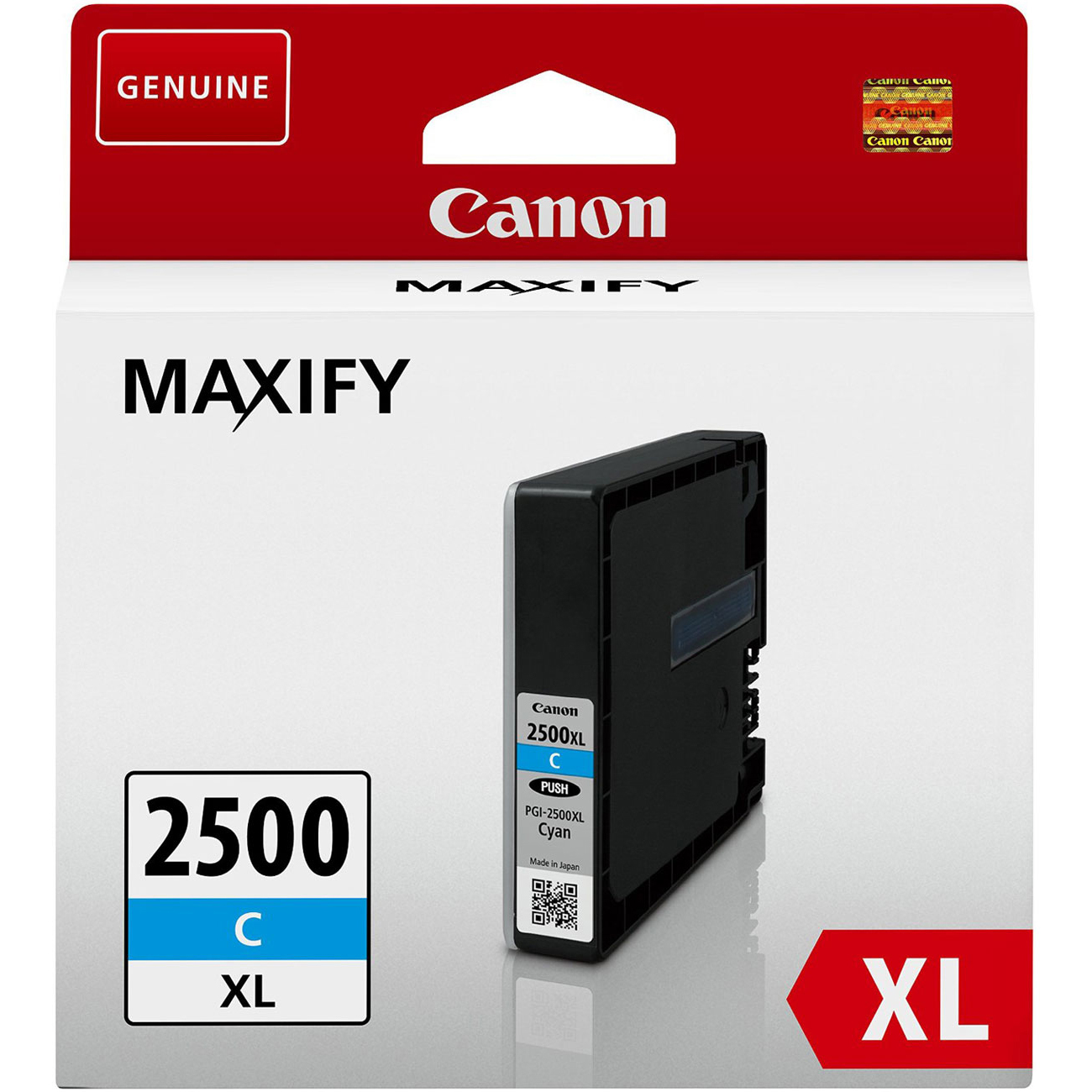 Original Canon PGI-2500CXL Cyan High Capacity Ink Cartridge (9265B001)