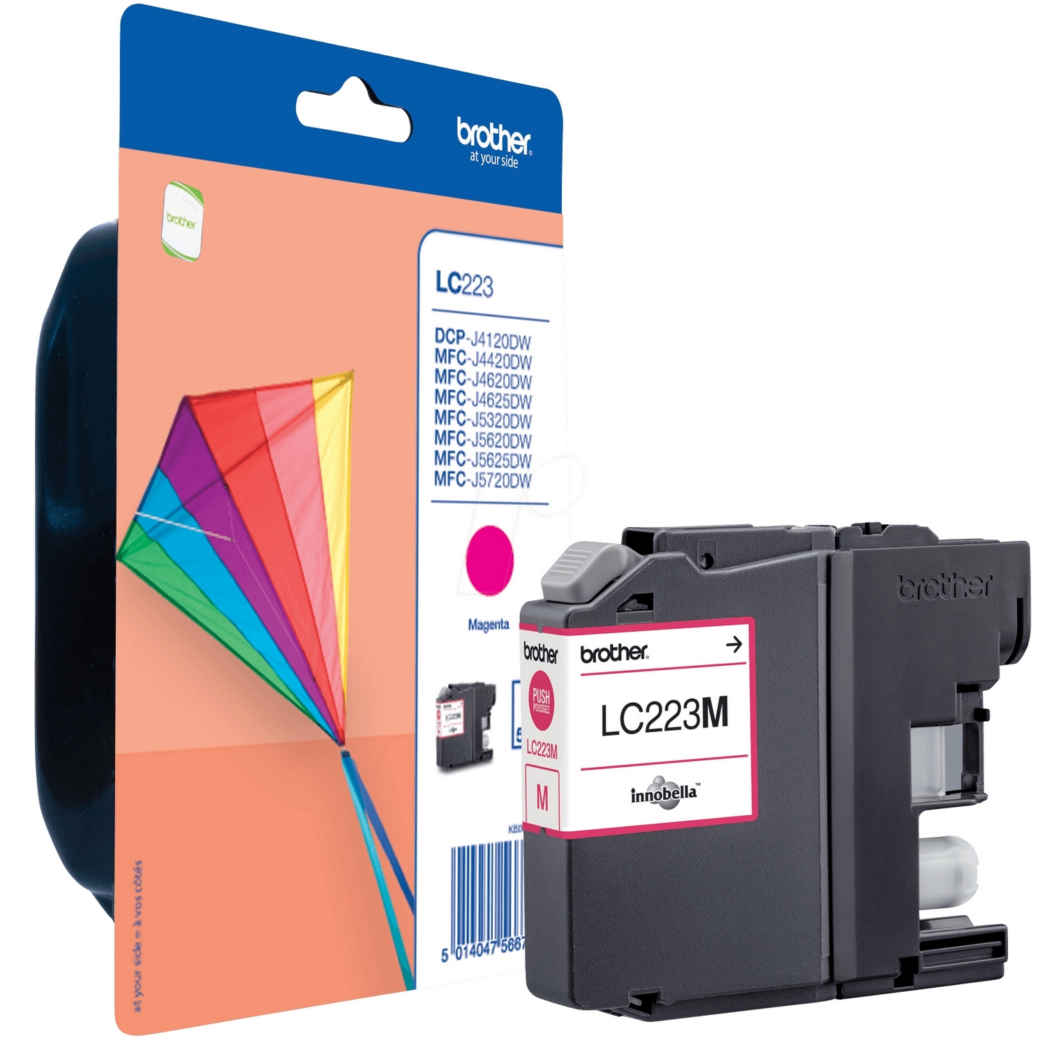 Original Brother LC223 Magenta Ink Cartridge (LC223M)