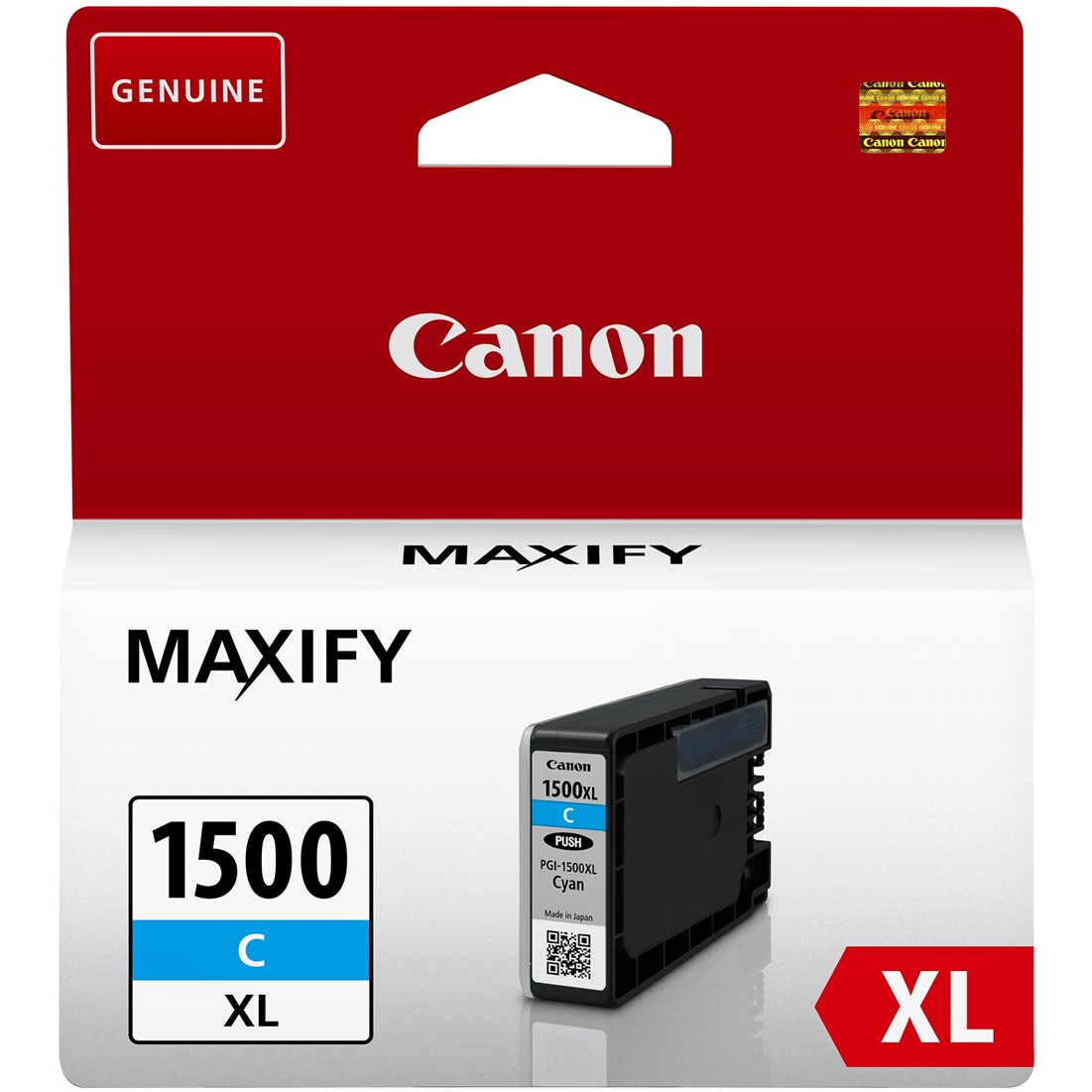 Original Canon PGI-1500CXL Cyan High Capacity Ink Cartridge (9193B001)