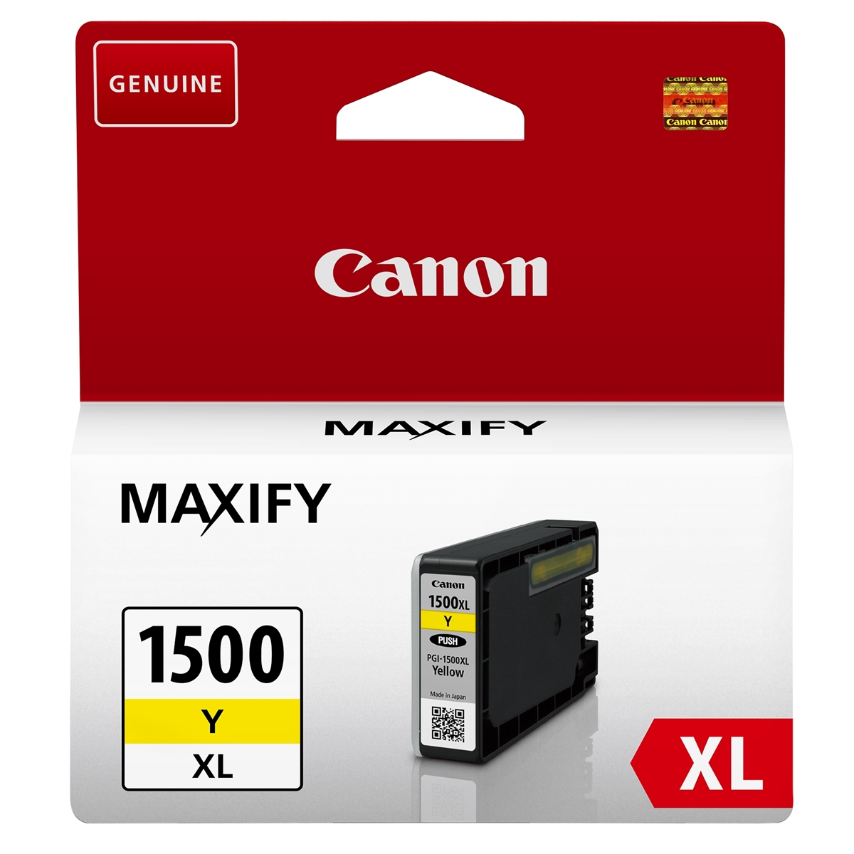 Original Canon PGI-1500YXL Yellow High Capacity Ink Cartridge (9195B001)