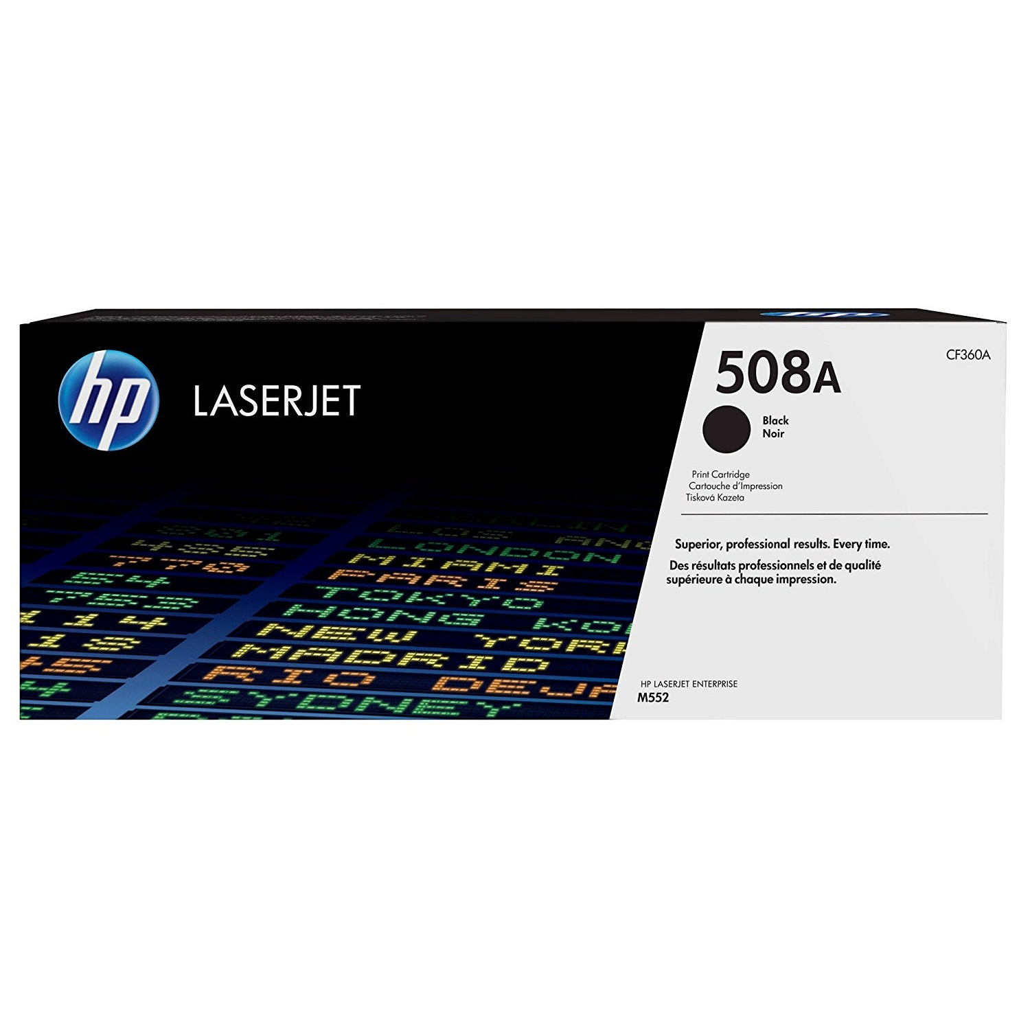 Original HP 508A Black Toner Cartridge (CF360A)