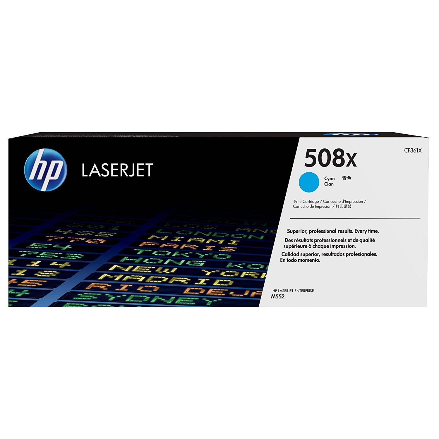 Original HP 508X Cyan High Capacity Toner Cartridge (CF361X)