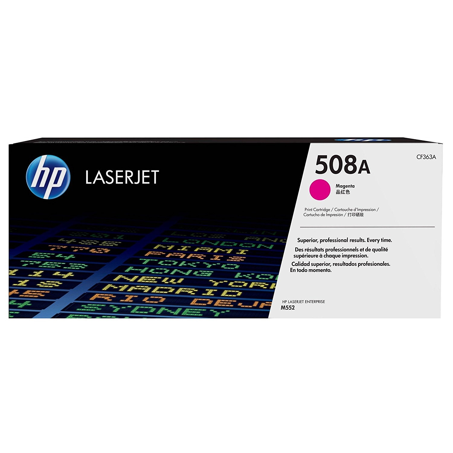 Original HP 508A Magenta Toner Cartridge (CF363A)
