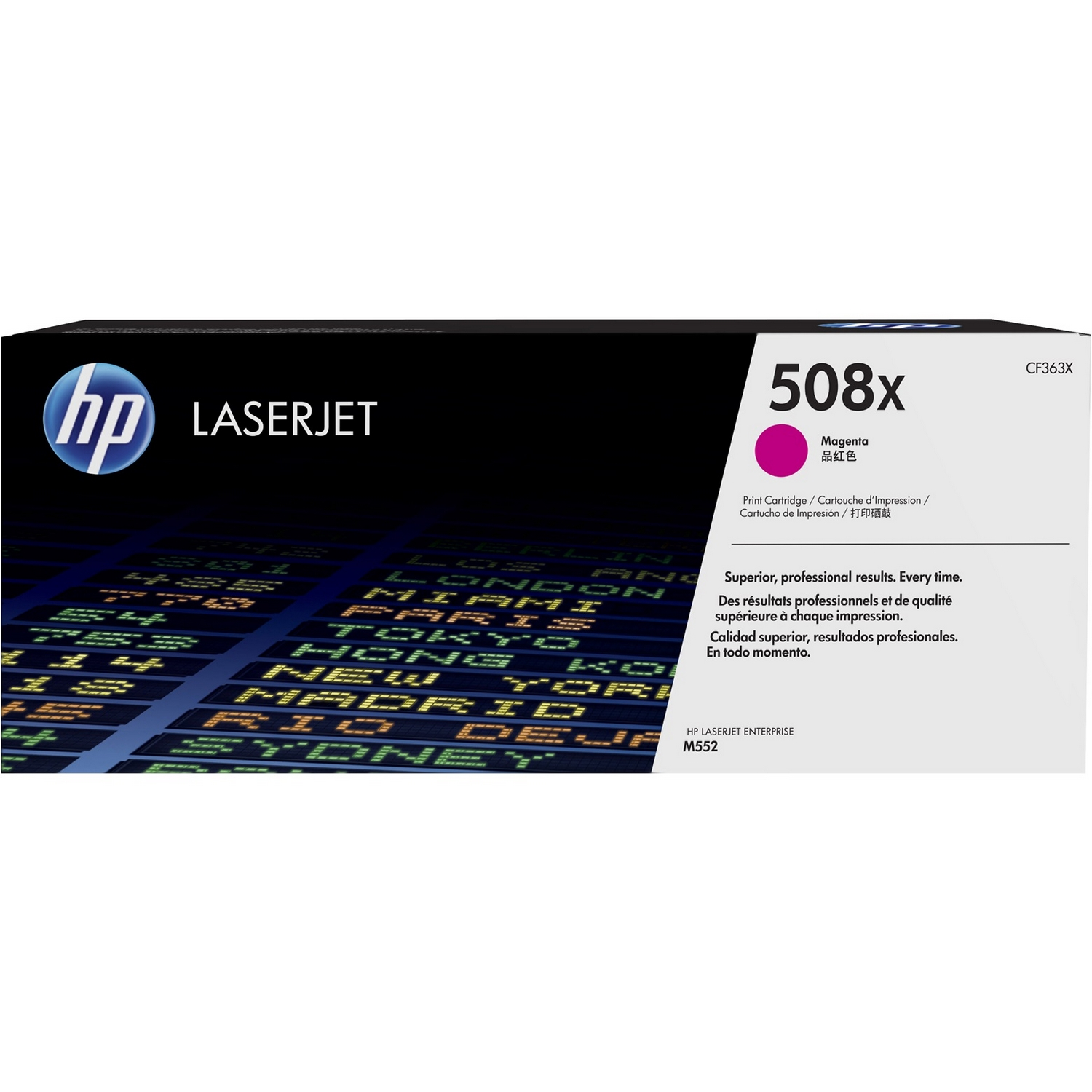 Original HP 508X Magenta High Capacity Toner Cartridge (CF363X)