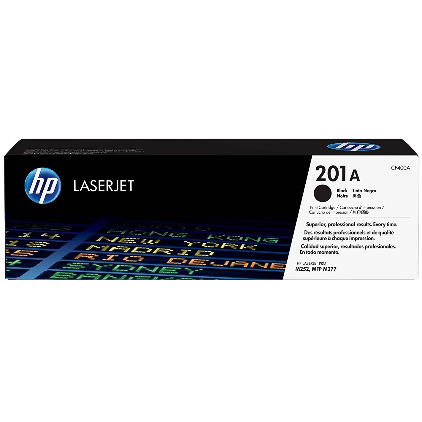 Original HP 201A Black Toner Cartridge (CF400A)