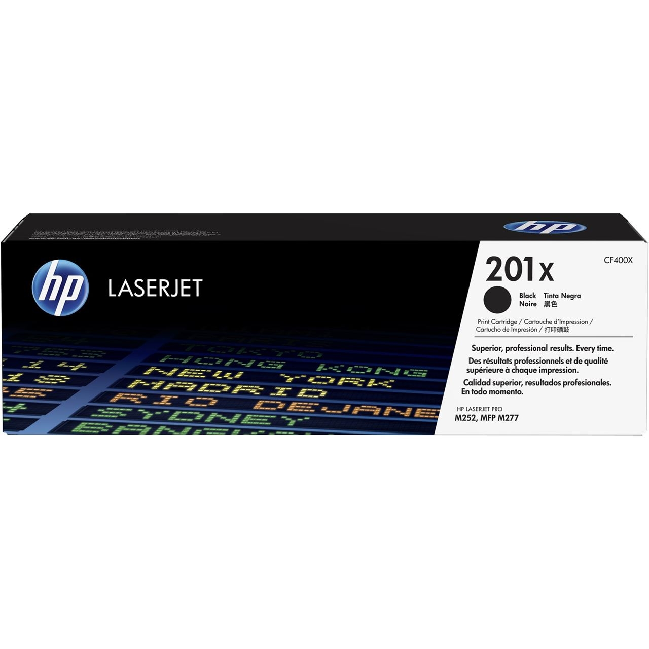 Original HP 201X Black High Capacity Toner Cartridge (CF400X)