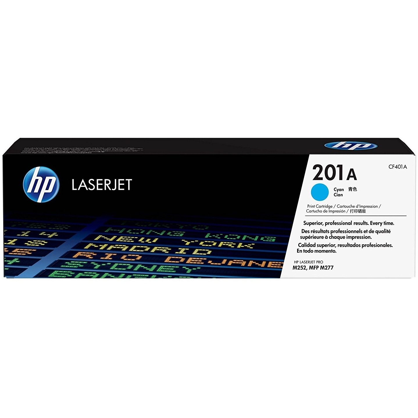Original HP 201A Cyan Toner Cartridge (CF401A)