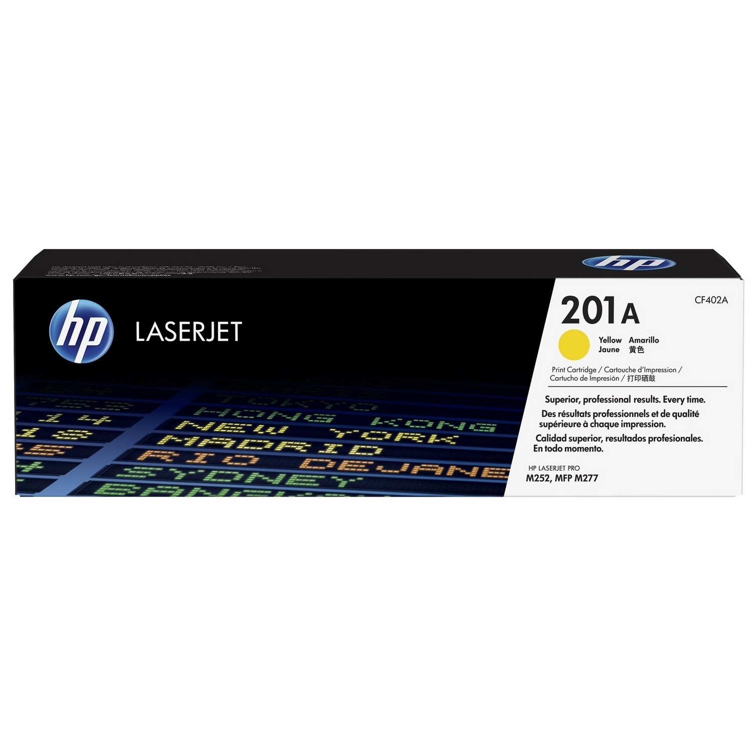 Original HP 201A Yellow Toner Cartridge (CF402A)