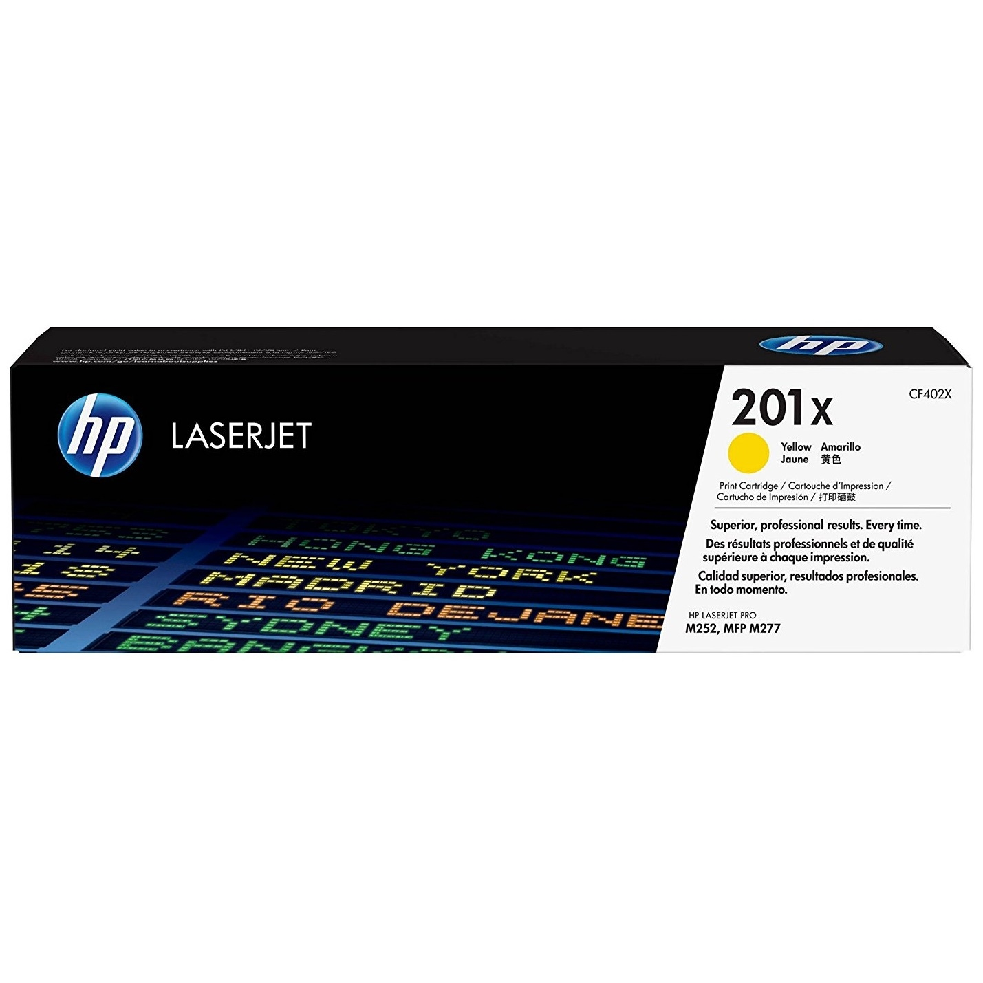 Original HP 201X Yellow High Capacity Toner Cartridge (CF402X)
