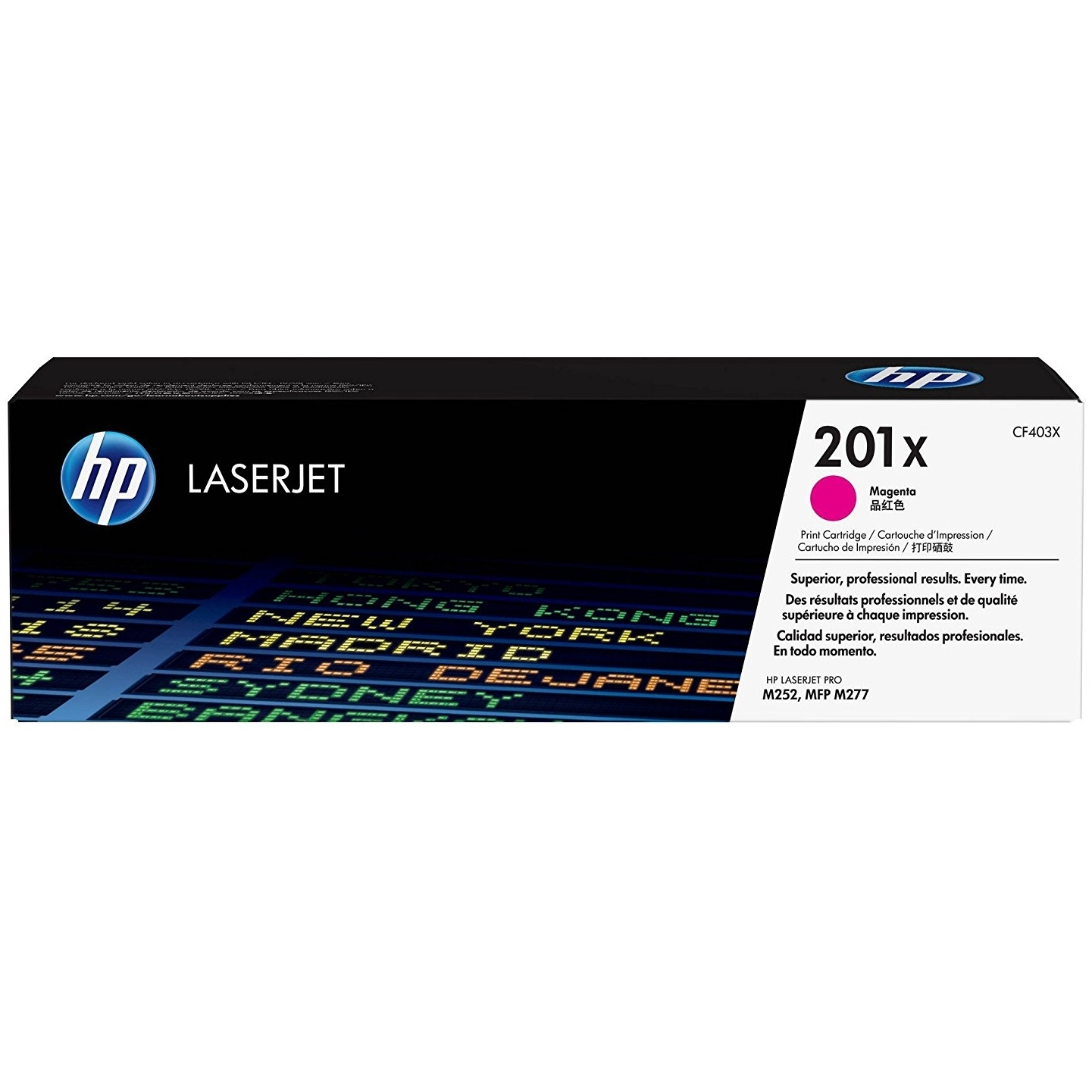 Original HP 201X Magenta High Capacity Toner Cartridge (CF403X)