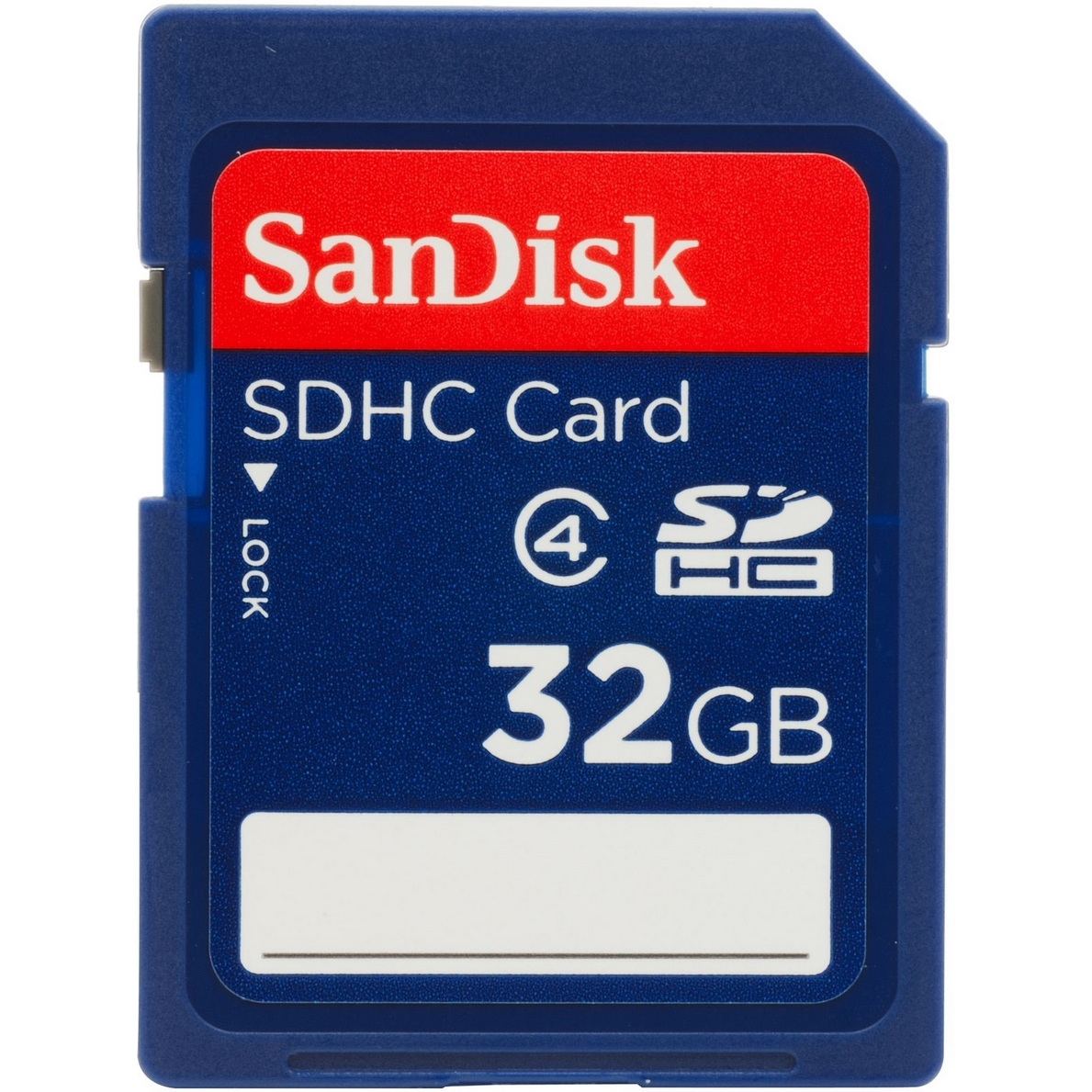 Original SanDisk Class 4 32GB MicroSDHC Memory Card + SD Adapter (SDSDQB-032G-B35)
