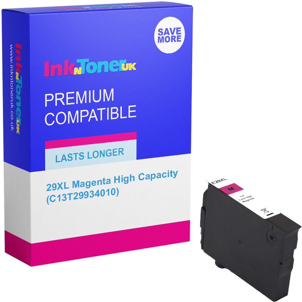 Premium Compatible Epson 29XL Magenta High Capacity Ink Cartridge (C13T29934010)