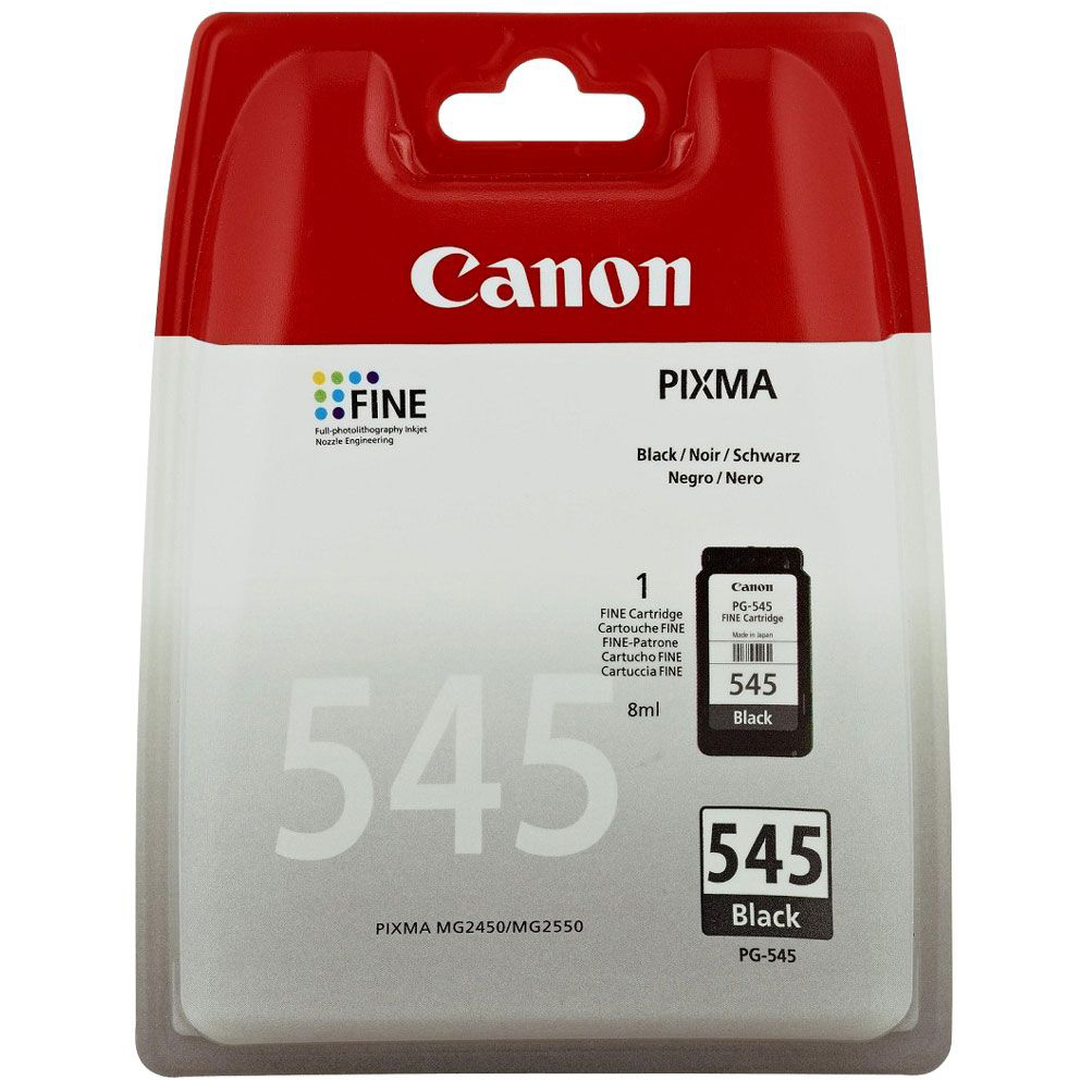 Original Canon PG-545 Black Ink Cartridge (8287B001)