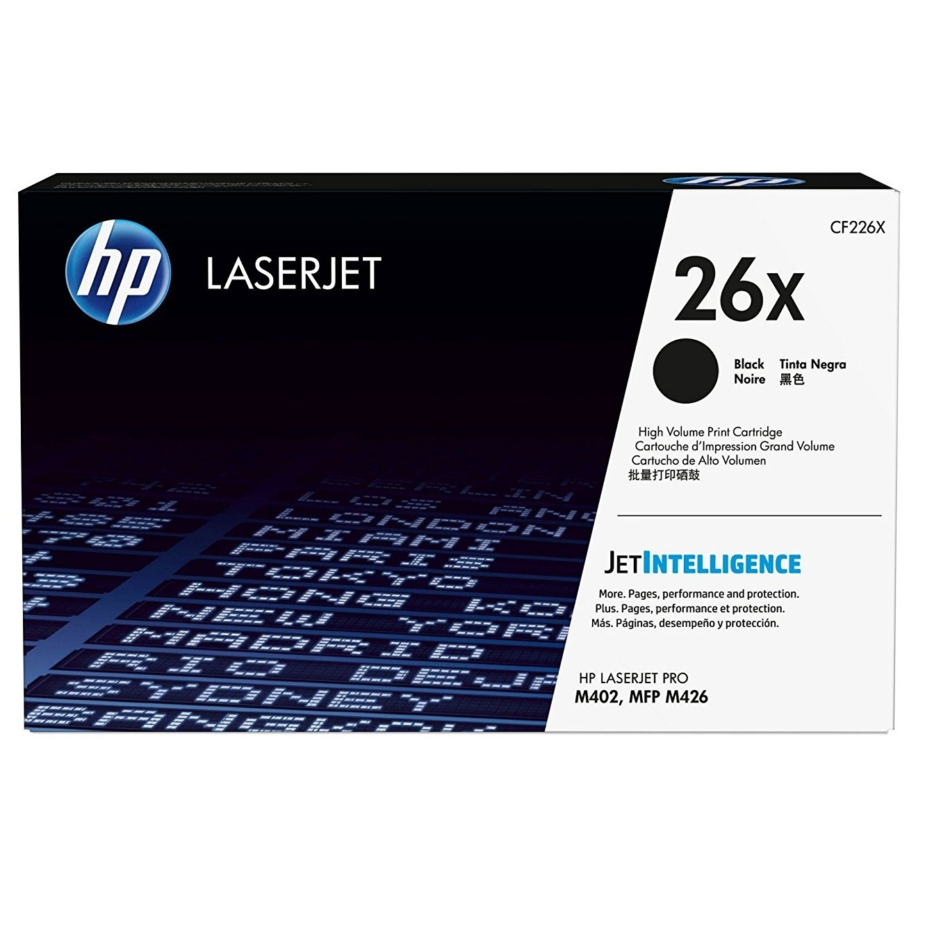 Original HP 26X Black High Capacity Toner Cartridge (CF226X)