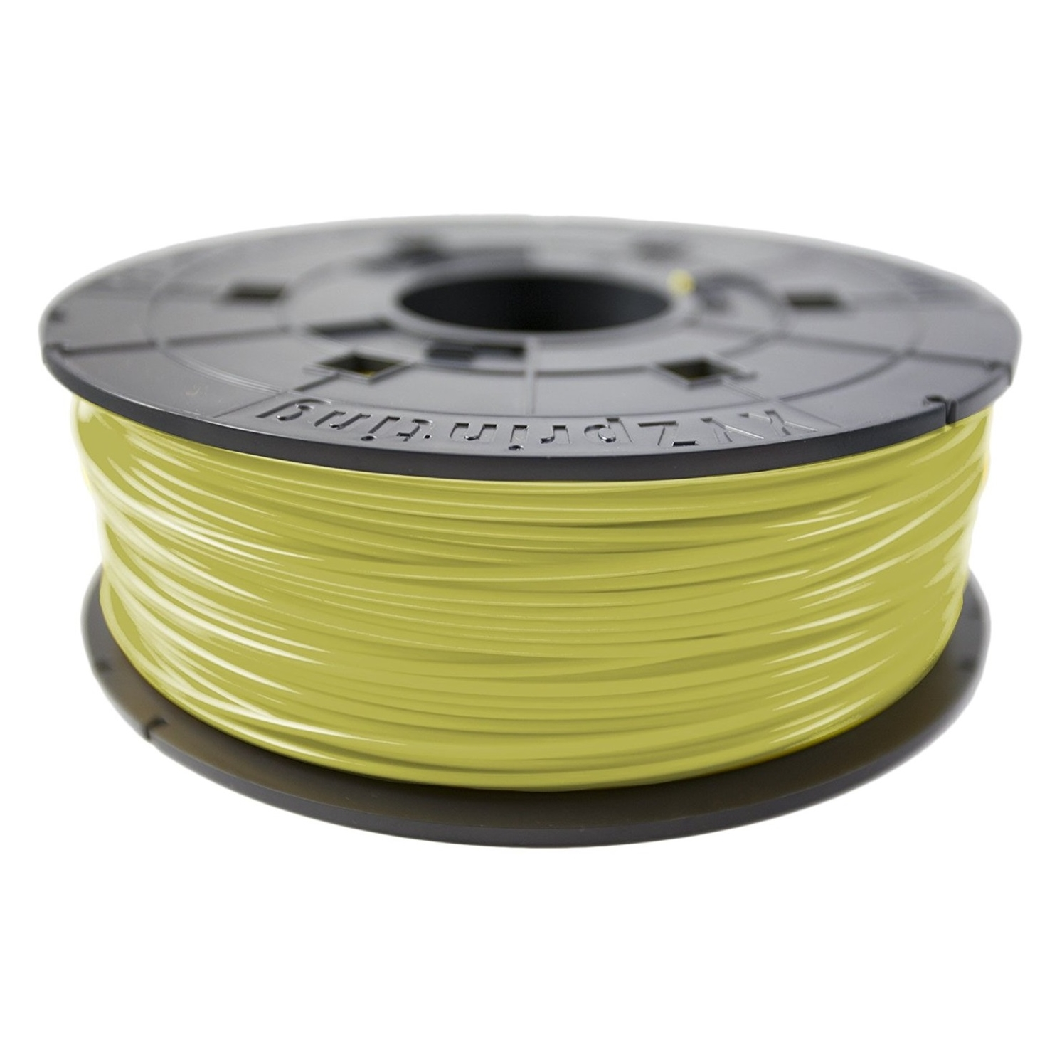 Original XYZprinting Cyber Yellow 1.75mm ABS Refill 3D Filament Cartridge (RF10XXEUZXB)