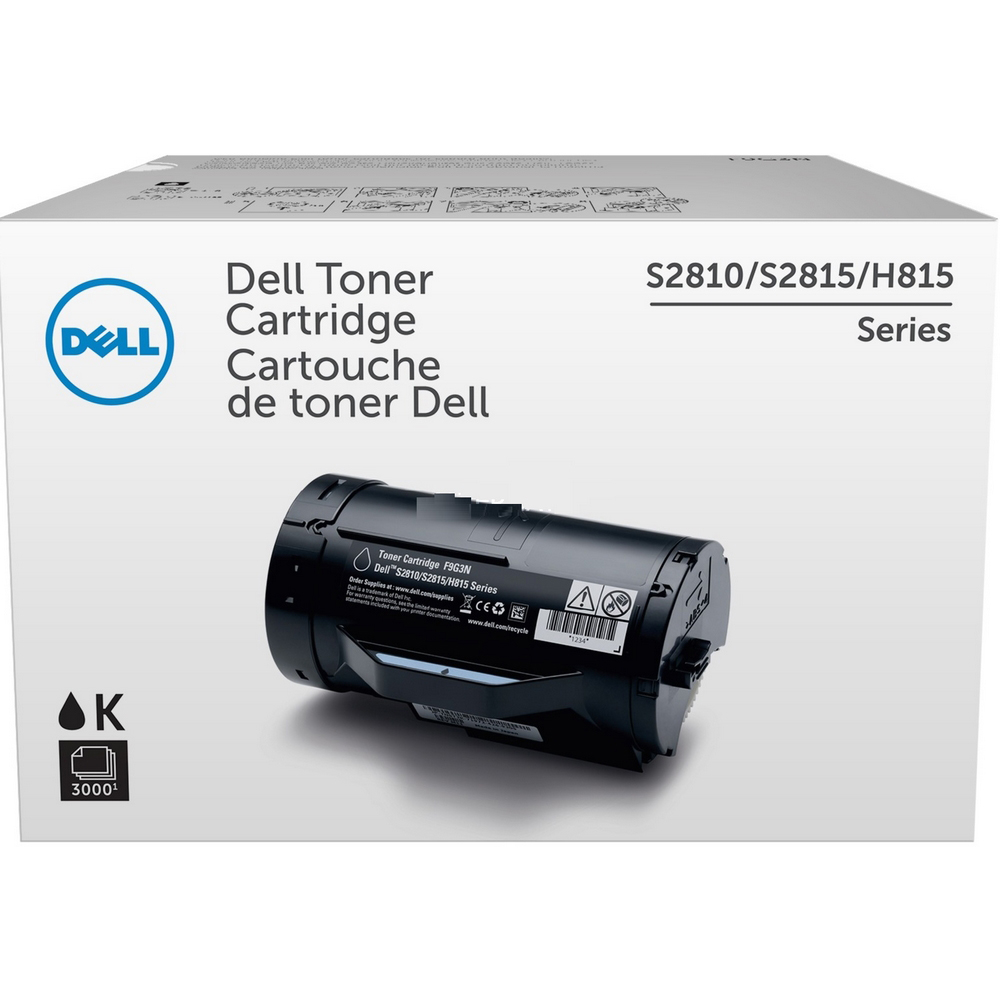 Original Dell KNRMF Black Toner Cartridge (593-BBMM)