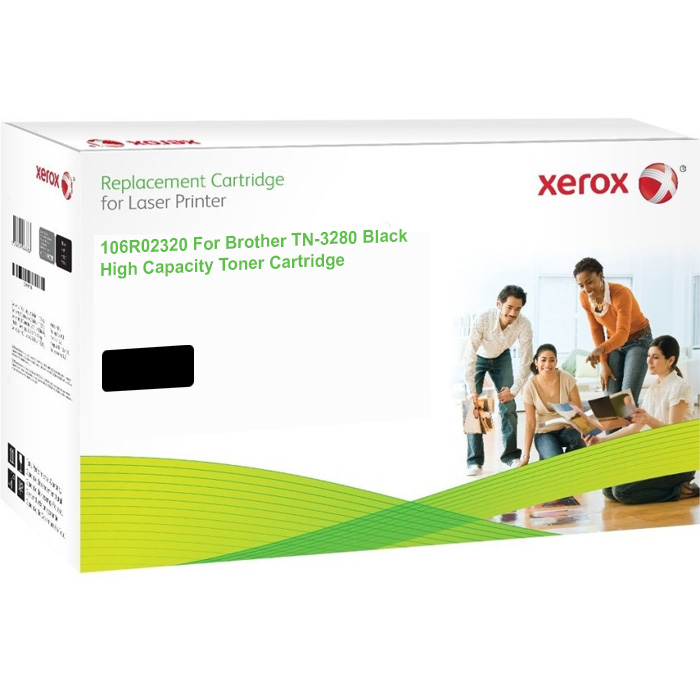 Xerox Ultimate Brother TN-3280 Black High Capacity Toner Cartridge (TN3280) (Xerox 106R02320)