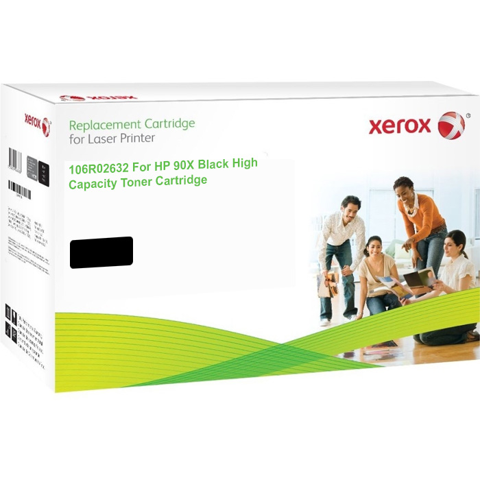 Xerox Ultimate HP 90X Black High Capacity Toner Cartridge (CE390X) (Xerox 106R02632)