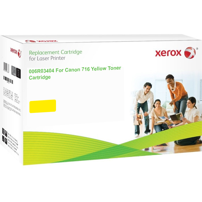 Xerox Ultimate Canon 716 Yellow Toner Cartridge (1977B002AA) (Xerox 006R03404)