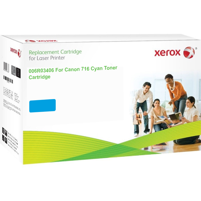 Xerox Ultimate Canon 716 Cyan Toner Cartridge (1979B002AA) (Xerox 006R03406)