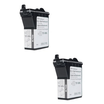 Original Pitney Bowes 797-0SB / K780003 Blue Twin Pack Franking Ink Cartridges (10020-801)