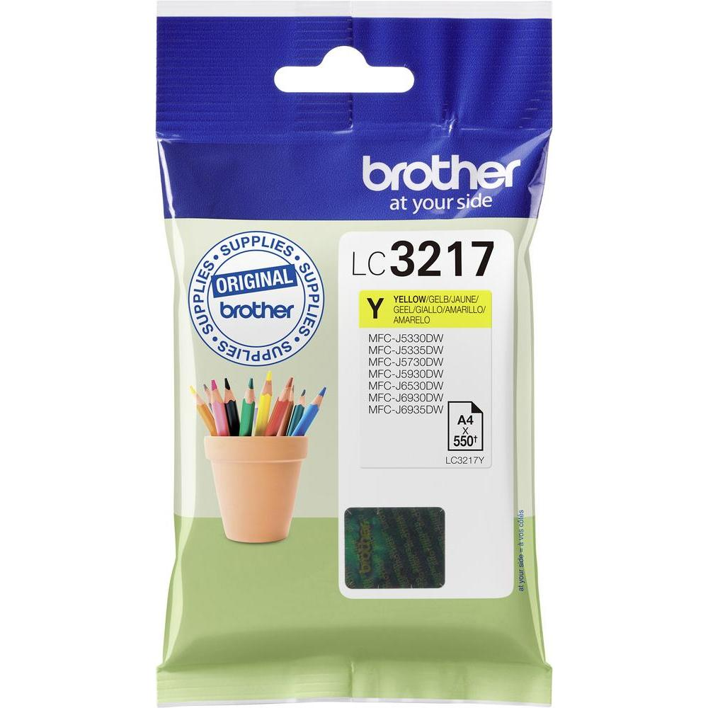 Original Brother LC3217Y Yellow Ink Cartridge (LC3217Y)