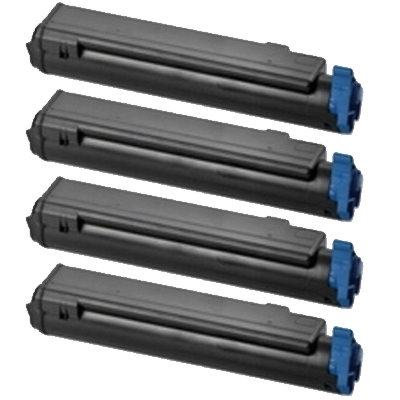 Original OKI 4650761 CMYK Multipack Toner Cartridges (46507616/ 46507615/ 46507614/ 46507613)
