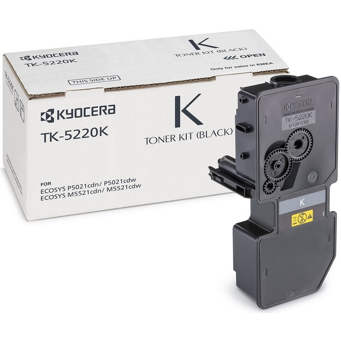 Original Kyocera TK-5220K Black Toner Cartridge (1T02R90NL1)
