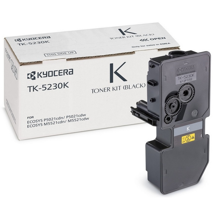 Original Kyocera TK-5230K Black Toner Cartridge (1T02R90NL0)
