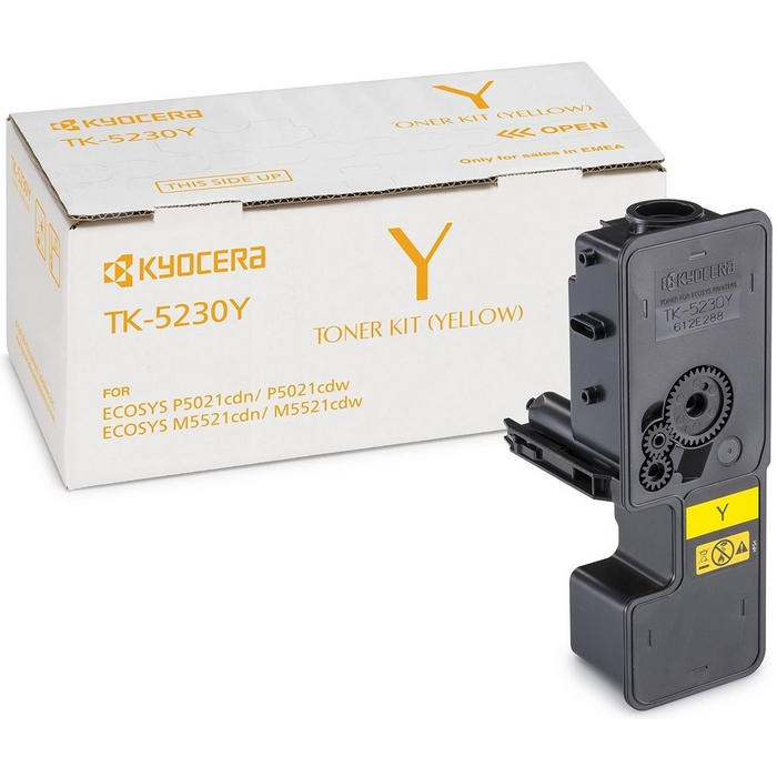 Original Kyocera TK-5230Y Yellow Toner Cartridge (1T02R9ANL0)