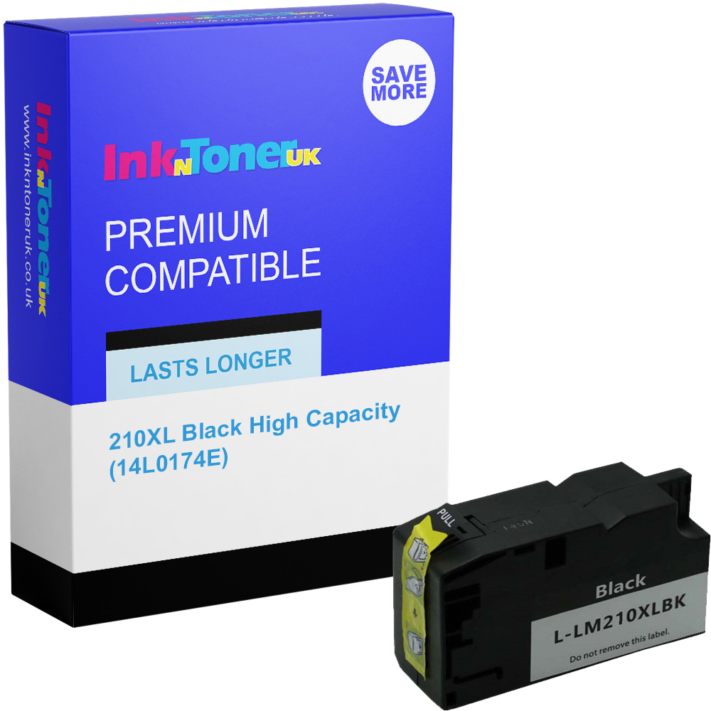 Premium Compatible Lexmark 210XL Black High Capacity Ink Cartridge (14L0174E)