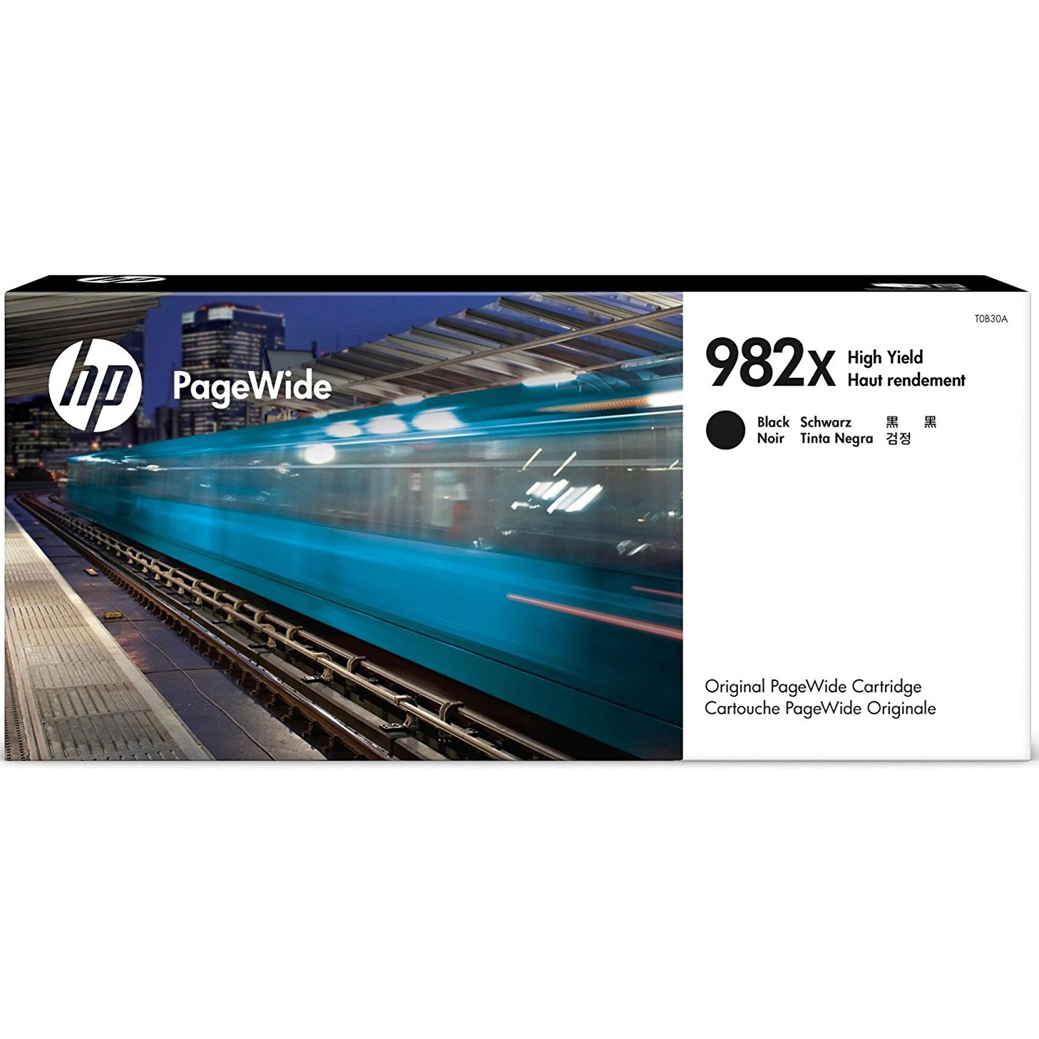 Original HP 982X Black High Capacity Ink Cartridge (T0B30A)