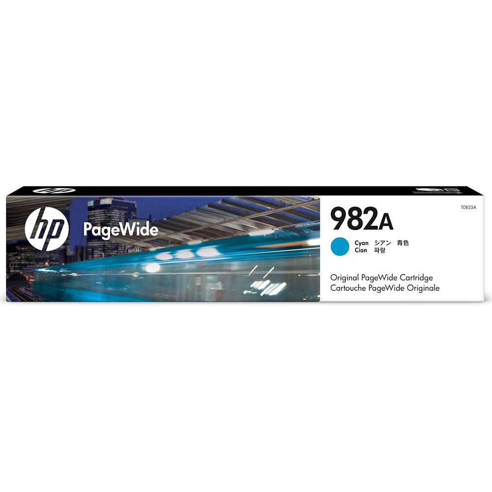 Original HP 982A Cyan Ink Cartridge (T0B23A)