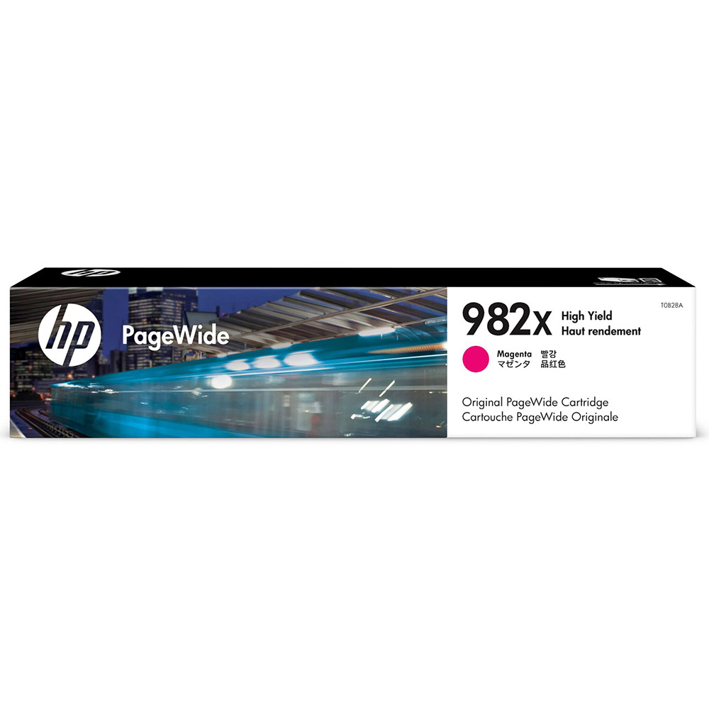 Original HP 982X Magenta High Capacity Ink Cartridge (T0B28A)