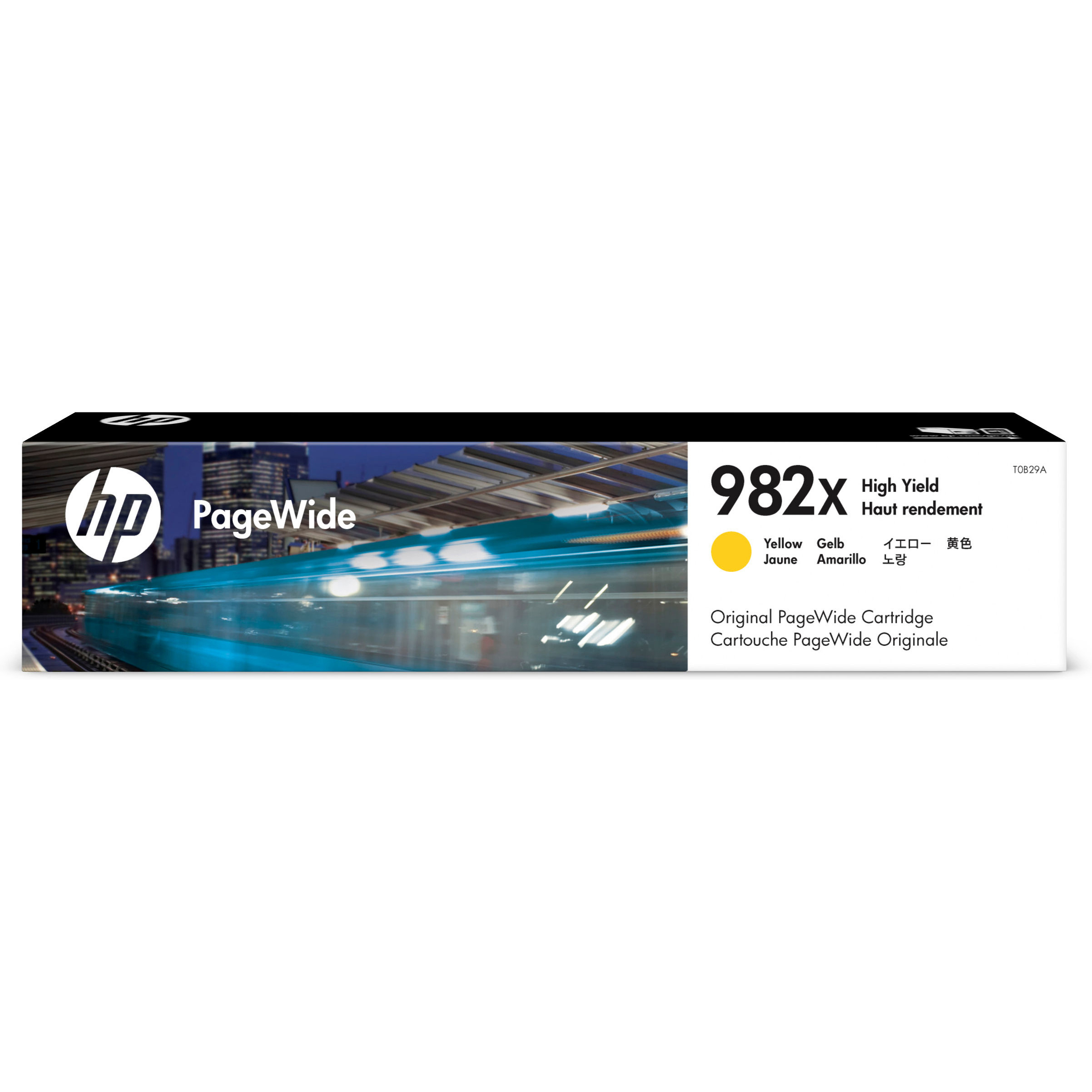Original HP 982X Yellow High Capacity Ink Cartridge (T0B29A)