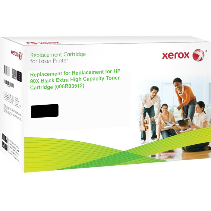 Xerox Ultimate HP 90X Black High Capacity Toner Cartridge (CE390X) (Xerox 006R03512)