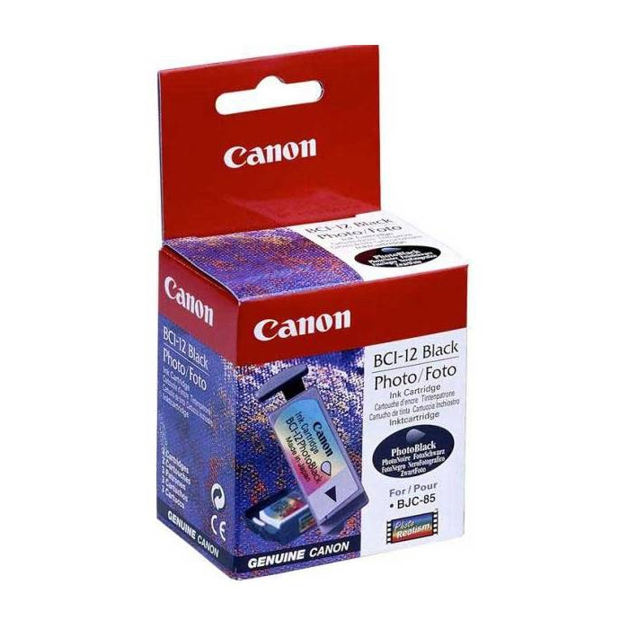 Original Canon BCI-12BK Black Ink Cartridge (0959A002)