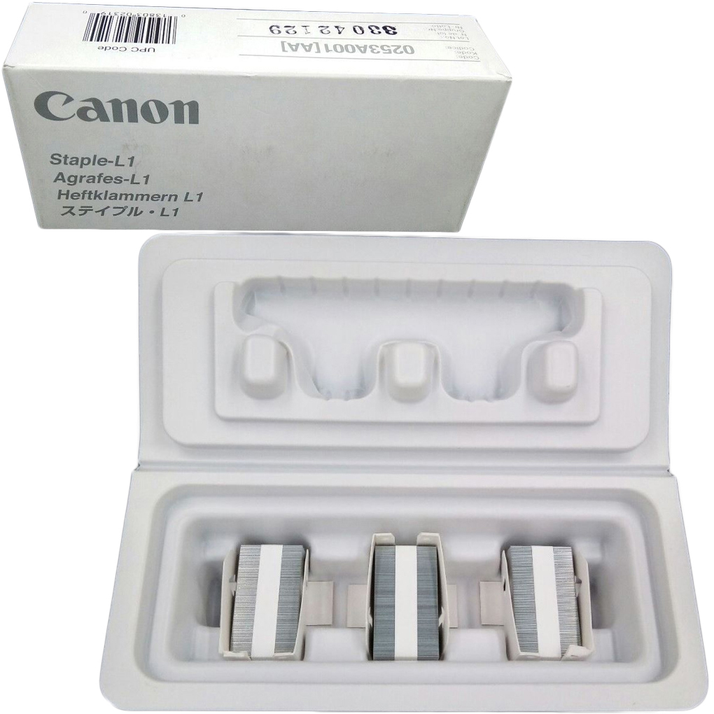 Original Canon L1 Staple Cartridge Box of 3 (0253A001AA)