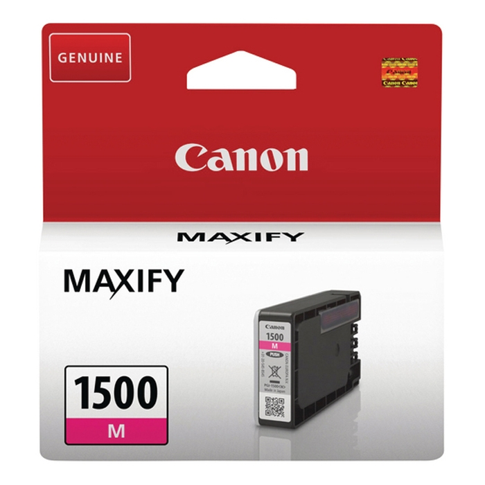 Original Canon PGI-1500M Magenta Ink Cartridge (9230B001)