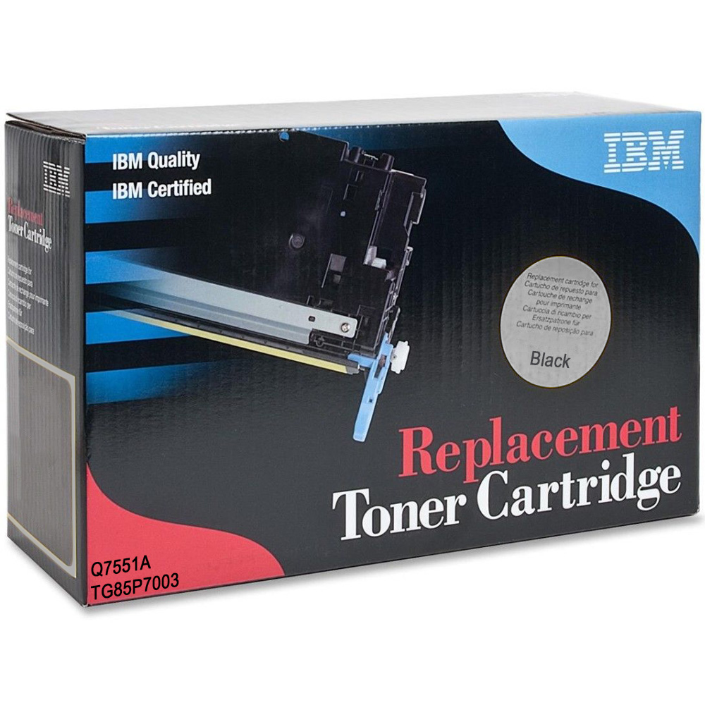 Ultimate HP 51A Black Toner Cartridge (Q7551A) (IBM TG85P7003)