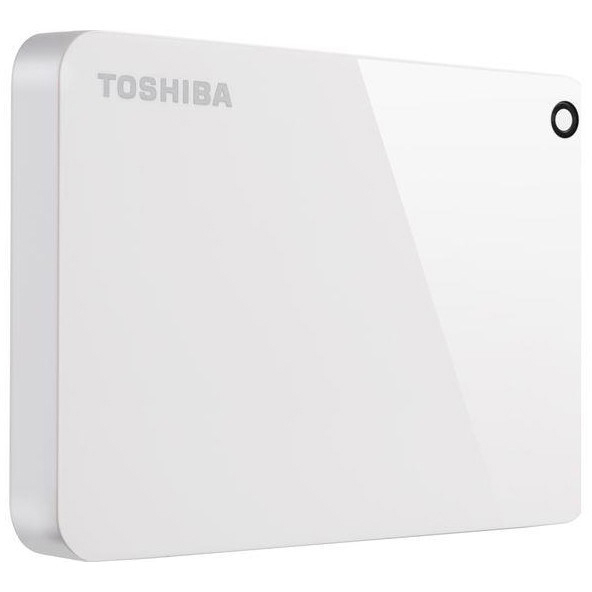 Original Toshiba Canvio Advance 2TB USB 3.0 External Hard Drive (HDTC920EW3AA)