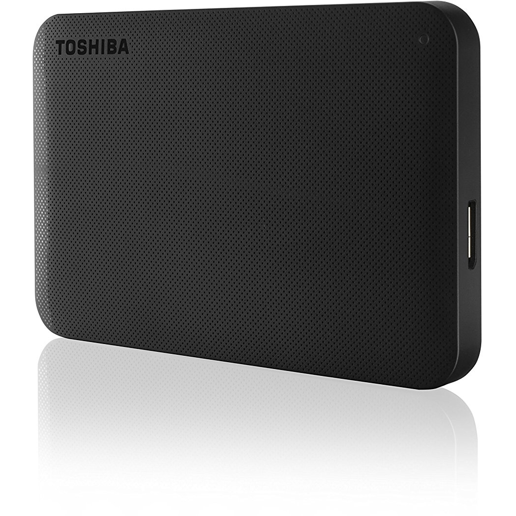 Original Toshiba Canvio Ready Black 2TB 2.5inch USB 3.0 Portable External Hard Drive (HDTP220EK3CA)